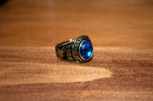 ring, senior ring, high school ring
