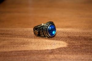 ring, senior ring, high school ring
