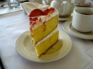 Delicious picture of cake