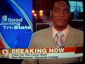 Breaking news picture, anchor