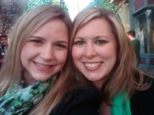 Megan and me