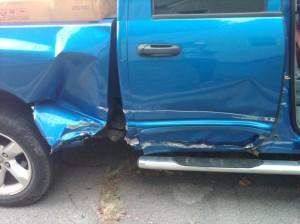 truck, Dodge Ram, accident
