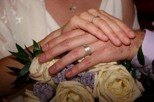 wedding, marriage, rings