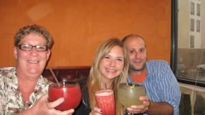 margaritas, daquiries, drinks