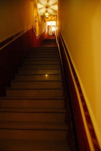 stairs, flights of stairs