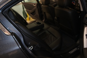 backseat, interior, Nissan Altima 2012