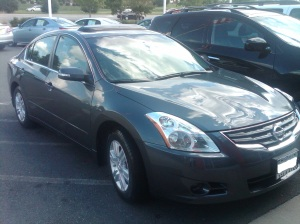 Nissan Altima 2012, gray