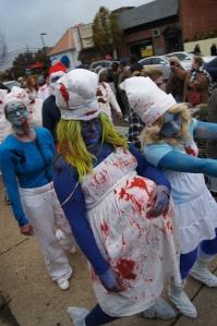 zombie smurfs