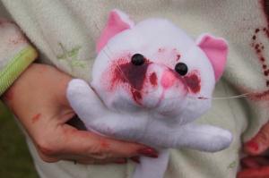 Cat lady zombie
