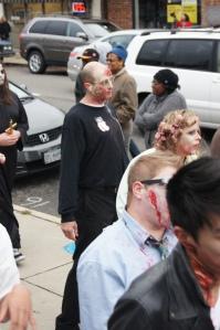 zombie walk, costumes, Steve Job costume