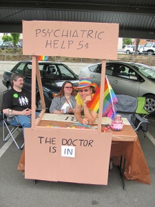 advice booth psychiatrist