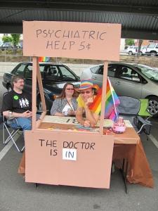 advice booth psychiatrist