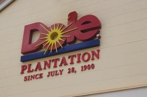 Dole Pineapple plantation Hawaii