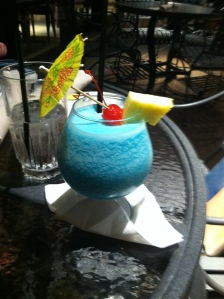 Hawaiin drink, umbrella drink