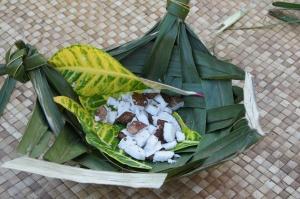 coconut, luau, Hawaiin food
