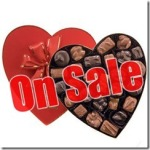 Valentine's Day candy on sale