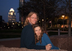 Engagement picture Deanna Roy