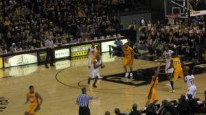 VCU basketball game