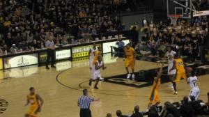 VCU basketball game