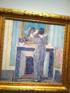 Painting by Frederick Carl Frieseke