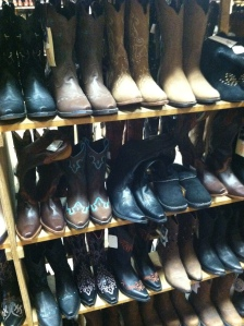 cowboy boots in Nashville
