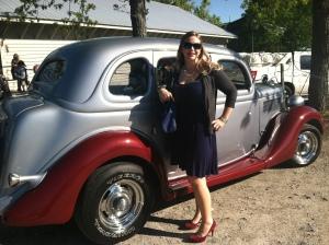 wedding in Myrtle Beach, classic antique car