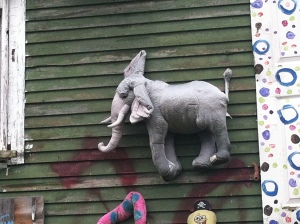 Heidelberg Project, stuffed animal house