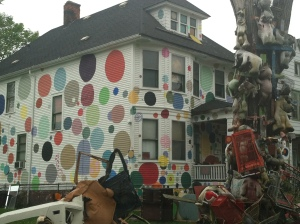 Heidelberg Project, polka dot house