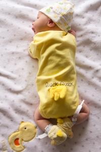 newborn duck outfit